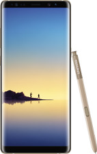 """Samsung Galaxy Note 8 gold 64GB LTE Android Smartphone ohne Simlock 6,3"""" Display"""