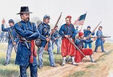 Italeri Union Infantería and prusos American Civil War figuras 1:72 ART.6012