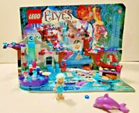 LEGO Elves Nadia's Spa Secret Set 41072 - PreOwned, Complete w/Manual and Box
