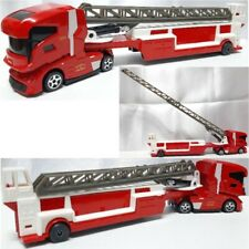 Majorette fire truck trailer 1/87 cable car tractor container diecast toy model
