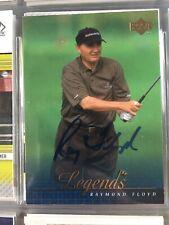 Ray Floyd Autograph Golf Card