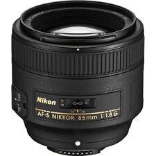 Nikon Nikkor 85mm f/1.8 AF-S Lens