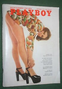 Playboy Sept 1972 POM Susan Miller Sandra Jozefski Bernadette Devlin interview