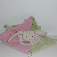 Doudou Lapin Babynat Baby Nat' - Rose Vert