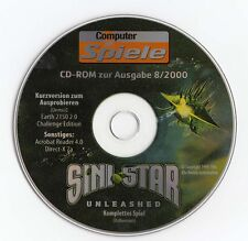 SINISTAR Unleashed-CD da computer giochi immagine