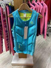 GlideSoul Woman Blue Vest Impact Kitesurfing Wakeboard M WETSUIT- NEW