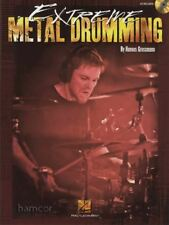 Extreme Metal Drumming Drum Music Book/CD by Hannes Grossmann