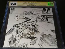 Dark Knight III: The Master Race #1 CGC SS 9.8 signed by Campbell & Janson