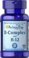 VITAMINA B12 Y B COMPLEX 180 COMPRIMIDOS ( MEMORIA Y STRESS )