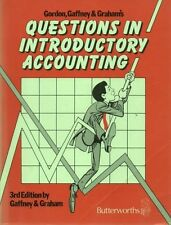 Gordon, Gaffney & Graham's Questions in Introductory Accounting #BN3731