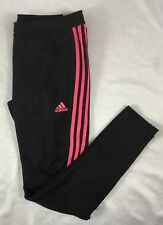 Adidas Women's Athletic TIR017 Climacool Soccer Sweat Pants Black DH6910 M