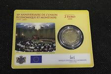 LUSSEMBURGO 2009 coincard 2 EURO commemorativo EMU