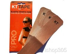 "KT Tape Pro-Synth Kinesiology Therapeutic Tape Fastpack Beige (3 Strips of 10"")"