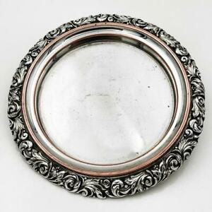 GEORGE IV OLD SHEFFIELD PLATE TRAY / DISH c1825 6 1/2 Inches