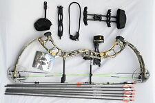 Bear Archery Cruzer rth 5-70# Derecho Mano Arco Pkg borde Camo Flechas y Desacople