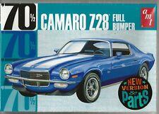 AMT 1155 1/25 1970 Camaro Z28 Full Bumper Plastic Model Kit