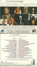 COFFRET 3 CD - CHANSONS FRANCAISES : BREL BRASSENS FERRE JOHNNY NEUF EMBALLE NEW