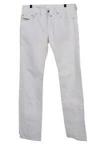 Vintage Diesel Safado Straight Leg Unisex Denim Jeans W32 L36 White - J5096