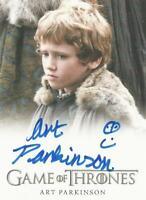 "Game of Thrones Season 1 - Art Parkinson ""Rickon"" Full Bleed Autograph Card"