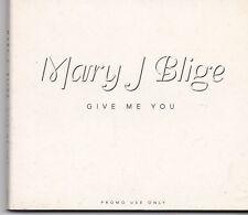 Mary J Blige-Give Me You promo cd maxi single digipack