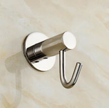 Wall Mounted Hook Hanger Stainless Steel Bath Bathroom Accessories Holder Chrome