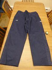 Under Armour Navy Blue Men's Storm Rain Pant Waterproof Coach Warm Up Golf Pants