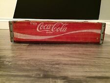 (#82) Vintage Red Coke Coca Cola Wood Soda Pop Case Crate Graphics Everywhere
