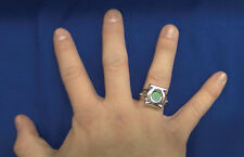 Green Lantern  Emblem Steel Ring Size 11  New B
