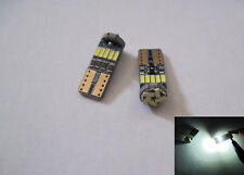 6 pcs T10 194 Samsung 3W SMD 7014 High power LED SMD 6K White Bright led