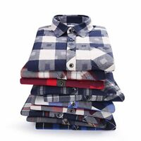 Fashion Male Shirts Full Sleeves Warm Comfortable Top Wear Casual Men's Clothing