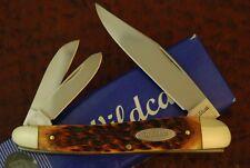 WILDCAT BROWN BONE PREMIUM 4 inch CARPENTERS HAWKHEAD BIG WHITTLER KNIFE NICE
