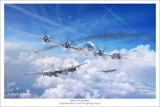 """B-29 Superfortress Aviation Art Print - 16"""" x 24"""""""