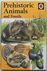 Vintage Ladybird Book–Prehistoric Animals & Fossils–651–Early Edition–Very Good
