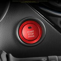 Rot Start Stop Engine Druckknopf Schalter Deckel Cover für Toyota C-HR ab 2016