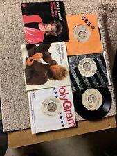 lot of 6-D. different Rod Stewart Rock Pop vinyl records 45