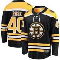 Tuukka Rask #40 Boston Bruins Black & Yellow Hockey Jersey
