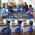 Large Portable Kids Toy Organizer Storage Bag Play Mat For Lego Rug Box XL 150cm