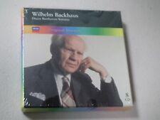 WILHELM BACKHAUS- DECCA BEETHOVEN SONATAS 8 BOX SET VERY RARE NEW