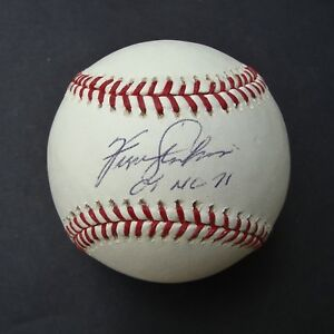 FERGUSON JENKINS signed  Baseball  AUTOGRAPHED CY NL 71 MLB