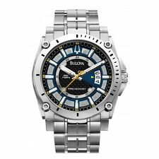 Gents Bulova Precisionist Stainless Steel Bracelet Watch  ref 96B131