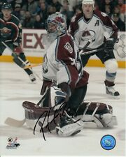 Patrick Roy Colorado Avalanche Autographed Signed 8x10 Photo