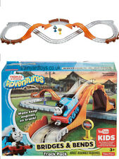 Thomas Adventures BRIDGES and BENDS Train Track Expansion Pack DYV58 Mattel toy