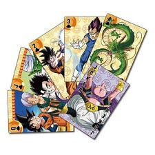 NEW Playing Cards * Dragon Ball Z * Anime Manga Art Sealed Game Collectible NIP