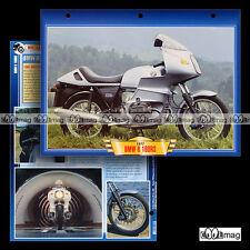 #021.05 Fiche Moto BMW R 100 RS 1976-84 Motorrad Motorcycle Card