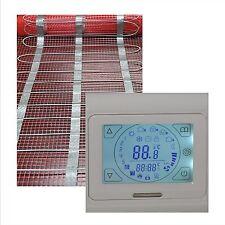 elektrische Fußbodenheizung Fliesenheizung  1 bis 20 m2 mit TOUCH SCREEN Regler