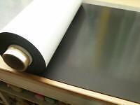 Magnetfolie 5  Meter +100 cm breit  weiß Magnetfolien