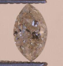 loose marquise diamond .69ct 4.39x7.38x3.37mm I3 K estate vintage antique
