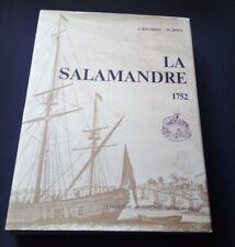 Galiote a Bombes - La Salamandre 1752 par Boudriot et Berti - Marine