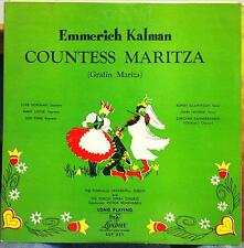 VICTOR REINSHAGEN kalman countess maritza LP VG+ LLP 221 FFrr UK 1950 Record
