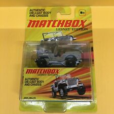 Matchbox Lesney Edition 1:64 Jeep Willys - Gray